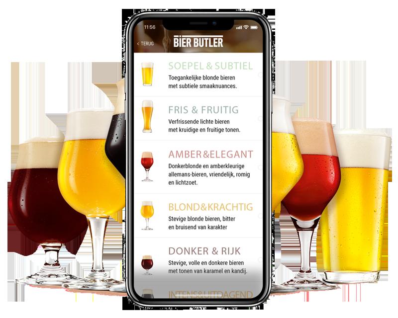 Bier Butler smaakcategorieën
