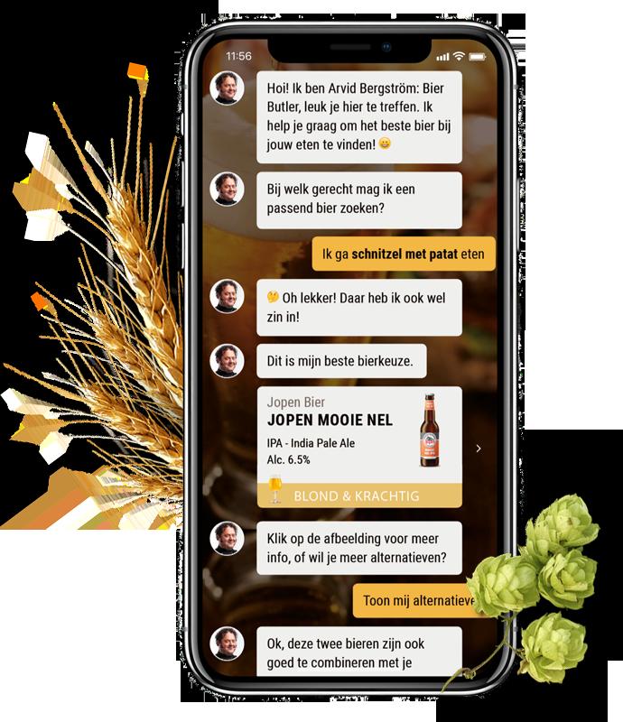 Bier Butler app